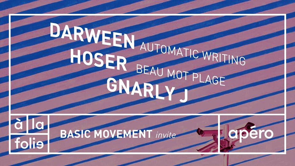 Basic Movement invite Darween, Hoser & Gnarly