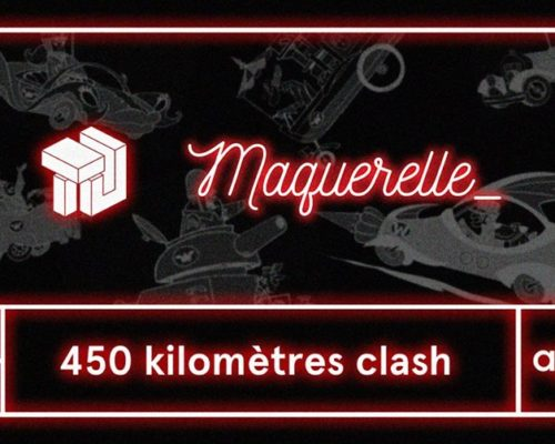 450 km clash / trait d'union vs maquerelle